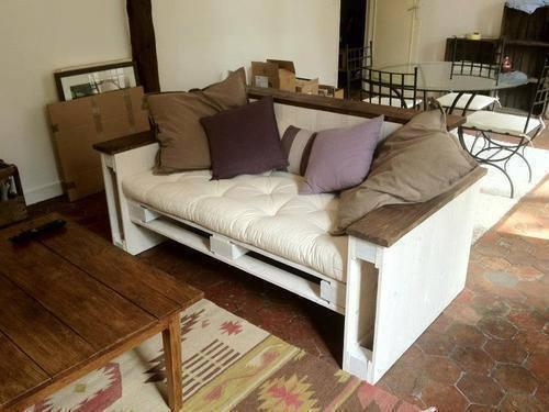 Vyrobte si nábytek z dřevěných palet