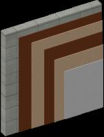 Odhlučnění stěny, 2 vrstvy