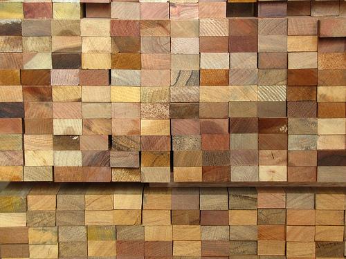 stavební dřevo