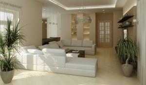 Podobně může vypadat i váš panelákový byt po rekonstrukci jeho jádra.